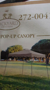 POP UP TENT, 8 X 8 tent 10 X 10 BASE New Still IN THE BOX
