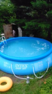 Intex swimming pool