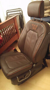 Ford F-150 King Ranch Leather seats x2
