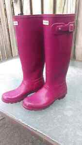 Pink/Purple Hunter Boots