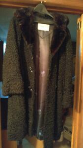 Vintage Lamb & Mink Coat