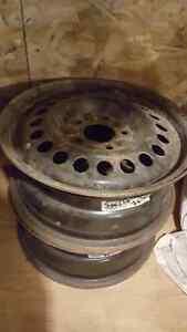 2 jantes rim ring roue acier 15 pouces 5 x 114.3 67mm
