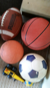 Basket Balls / Waterguns / Soccer Ball and Football