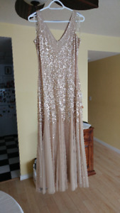 Graduation dress made by Adrianna Papell