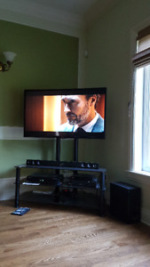 LG TV 47 inch WITH Speaker System