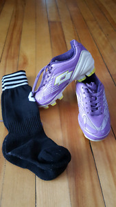 SOCCER CLEATS AND SOCKS!!!