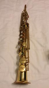 Vito Selmer Yanigasawa straight soprano saxophone