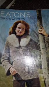 EATONS  1975  FALL AND WINTER  MAGAZINE