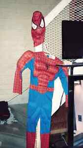 Spiderman costume fit size 5/6/7