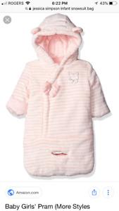 New Jessica Simpson Snowsuit 0-6 months