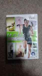 Selling: Fit in Six for Wii