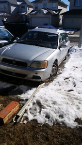 2003 Subaru legacy AWD wagon - requires oop