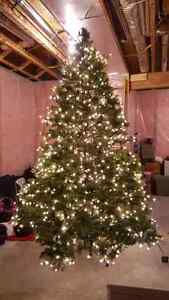 9ft christmas tree.  Regularly  $900. Barely used