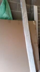 Shelf NEW or Kitchen unit Kick Board or shelving.. Cream /ivory