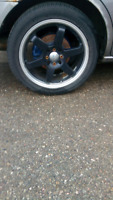 17 inch rim and tires