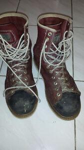 Dakota iron worker boots. Size 10