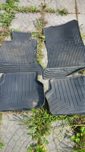 BMW rubber mats