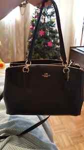 Authentic Coach bag price firm