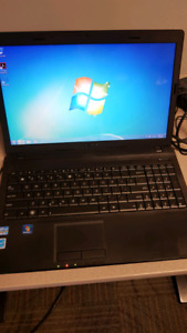 Asus Windows 7 laptop