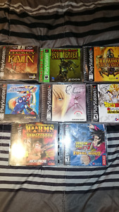 ! -- PS1 games for sale -- !
