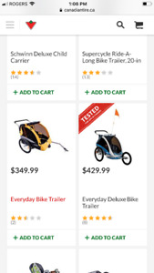 Bicycle trailer /stroller brand new