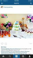 THE BEST 1 STOP SHOP, CAKES, SWEET TABLES Bridal Showers & more