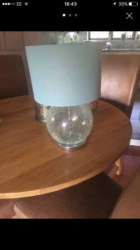Next lamp Duck Egg great condition
