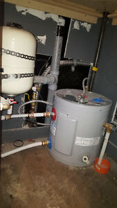 6 Gallon Hot Water Heater & Expansion Tank