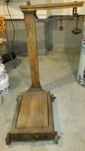 Vintage Antique Weigh Scale