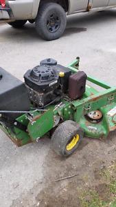 John deer industrial grad lawn mower
