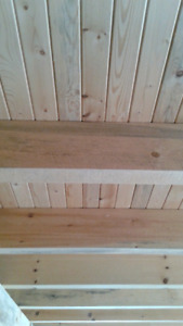 Wood Tongue and Groove,Siding,Flooring,Trim