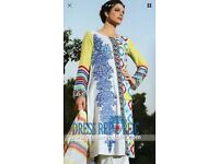 Asian Pakistani stitched dress!! Brand new and latest design for EID