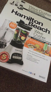 2 in 1 Hamilton beach blender and food processor