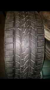 """18"""" Snow tires and 10 spoke rims"""