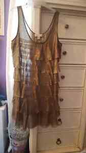 Micheal kors bronze dress large