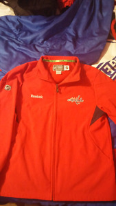 Nhl washington capitals mens spring/fall jacket small