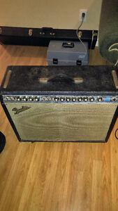 1970's Fender Twin Reverb Blackface Mod