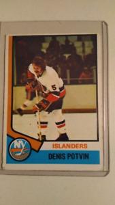 Denis Potvin - NY Islanders - HOF - Rookie Card - Ex Cond. - $50
