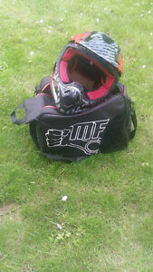 New Large Helmet with Bag