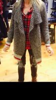 ISO Roots 73 (outlet) Cabin Waterfall Cardigan