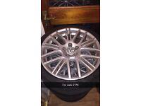5x100 VW alloys 17 inch