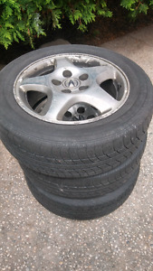 3 Acura Tires and rims for sale
