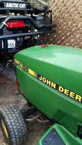 Looking for a complete hood for John Deere LX188 & Mulch Plate