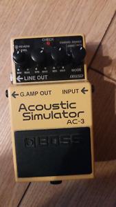 Boss AC-3 - Acoustic Simulator