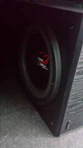 "12"" Subwoofer and Amp"