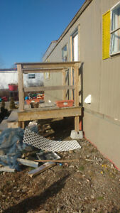 Mobile home for sale on large municipal lot inc text 222 1333