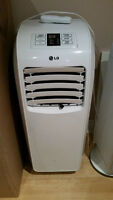 ON SALE LG 8,000 BTU Portable AC for $150.