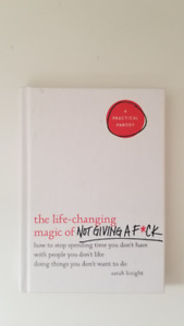 Book!! The Life Changing Art of Not Giving a F*** - Sarah Knight