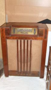 Antique Floor Radio