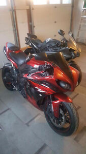2010 Candy Apple Red R1 Ghost Edition Custom Mods Toce exhaust